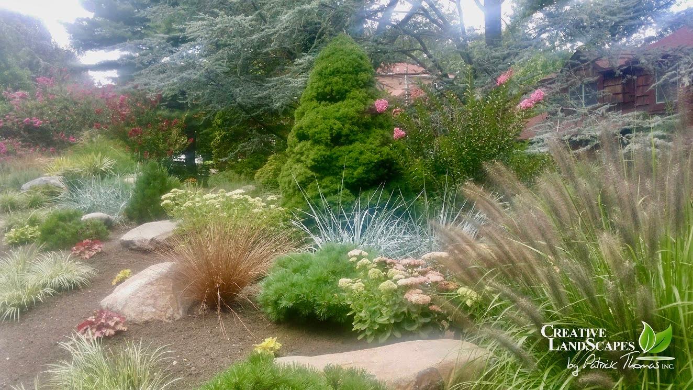 Shade Garden Design Layout